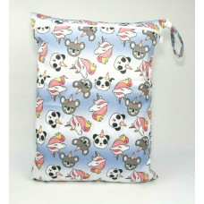 Large Wet Bag - Pandacorns