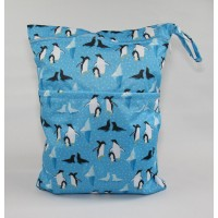 Large Wet Bag - Penguins