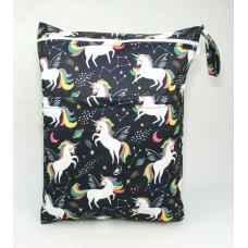 Large Wet Bag - Space Unicorns