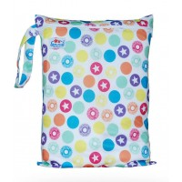 Large Babyland Wet Bag - Stars and Circles