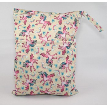 Large Wet Bag - Unicorns Large Wet Bags - Cloth Mama