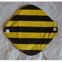Bamboo Panty Liner / Light Flow Sanitary Pad - Bumble Bee
