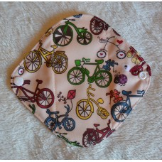 Bamboo Panty Liner / Light Flow Sanitary Pad - Bicycles