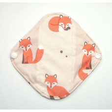 Bamboo Panty Liner / Light Flow Sanitary Pad - Foxes