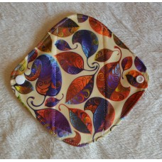 Bamboo Panty Liner / Light Flow Sanitary Pad - Autumn Leaves