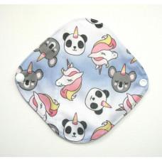 Bamboo Panty Liner / Light Flow Sanitary Pad - Pandacorns