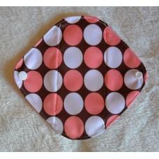 Bamboo Panty Liner / Light Flow Sanitary Pad - Pink Spots