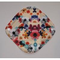 Bamboo Panty Liner / Light Flow Sanitary Pad - Floral Print
