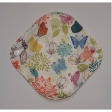 Bamboo Panty Liner / Light Flow Sanitary Pad - Pretty Butterflies