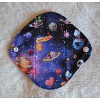 Bamboo Panty Liner / Light Flow Sanitary Pad - Space