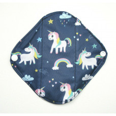 Bamboo Panty Liner / Light Flow Sanitary Pad - Unicorns