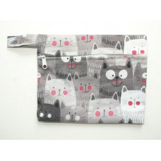 Mini Wet Bag - Cats