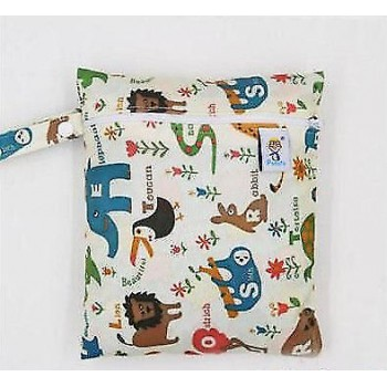 Medium Wet Bag - Animal Alphabet