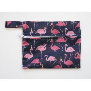 Mini Wet Bag - Flamingos