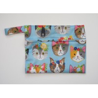 Mini Wet Bag - Kawaii Cats