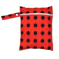 Medium Wet Bag - Ladybird