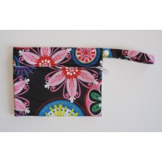 Mini Wet Bag - Neon Flowers