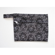 Mini Wet Bag - Black Lace