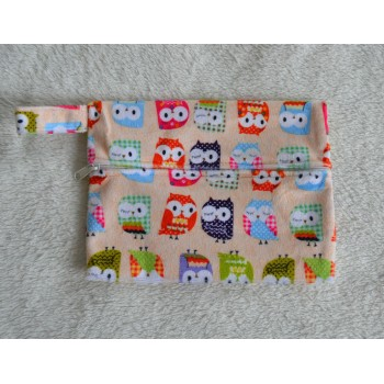Mini Wet Bag - Owls