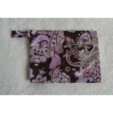 Mini Wet Bag - Paisley Print