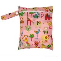 Medium Wet Bag - Pink Lions