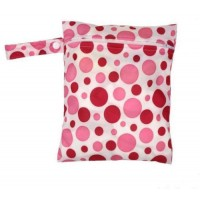 Medium Wet Bag - Pink Spots