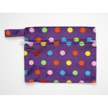 Mini Wet Bag - Polka Dots