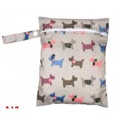 Medium Wet Bag - Scotty Dogs