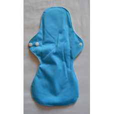 Bamboo Cloth Heavy Flow Sanitary Pad - Blue