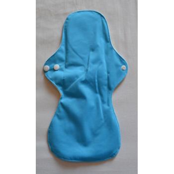 Bamboo Cloth Heavy Flow Sanitary Pad - Blue Heavy Flow Sanitary Pads - Cloth Mama